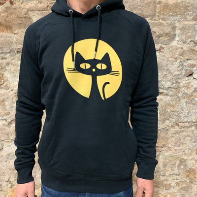 PASSION ANIMAL / Hoodie Unisex Gatito / Black
