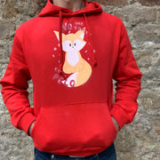 "PASSION ANIMAL / Hoodie Unisex ""No me tomes el pelo"" / Red"