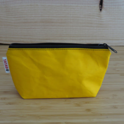TATADU / Toilet Bag or Pencil Case / Yellow