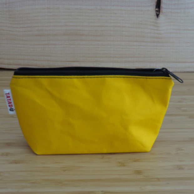 Toilet Bag or Pencil Case / Yellow