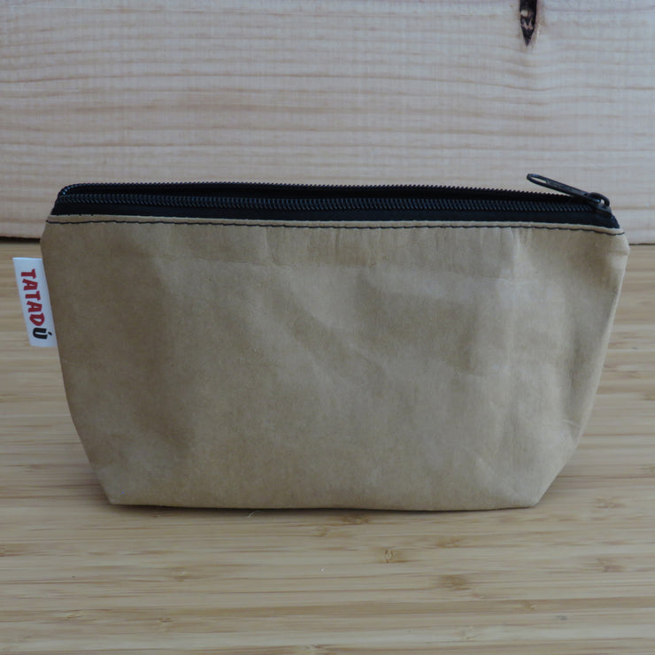 TATADU / Toilet Bag or Pencil Case / Kraft