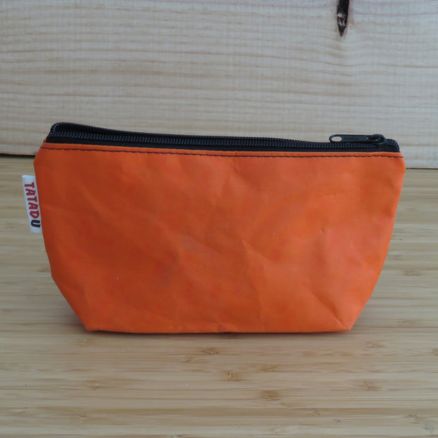 Toilet Bag or Pencil Case / Orange