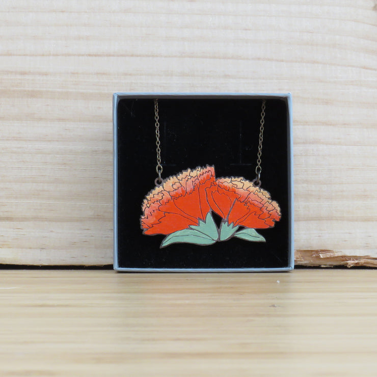 Necklace Carnation
