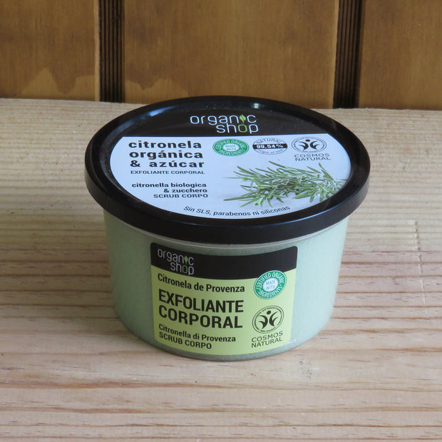 ORGANIC SHOP / Body Peeling Provence Lemongrass