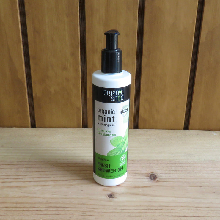 ORGANIC SHOP / Minty Rain Fresh Shower Gel