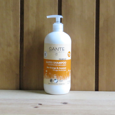 SANTÉ / Gloss & Strengthening Shampoo Orange & Coco 500ml