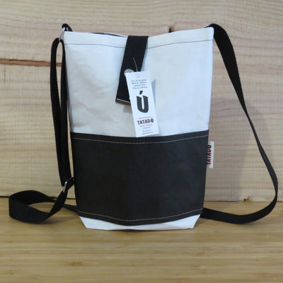 Shoulder Bag California / White-Black