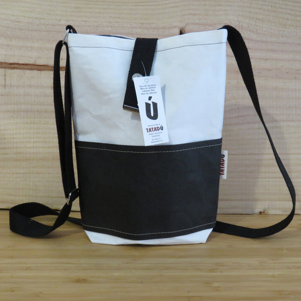 TATADU / Shoulder Bag California / White-Black