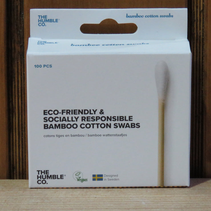 THE HUMBLE CO / Bamboo Cotton Swabs / White