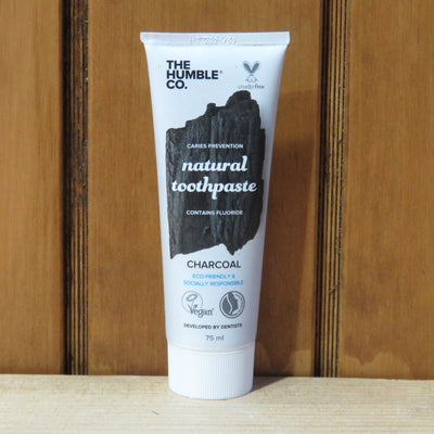 THE HUMBLE CO / Natural Toothpaste / Charcoal