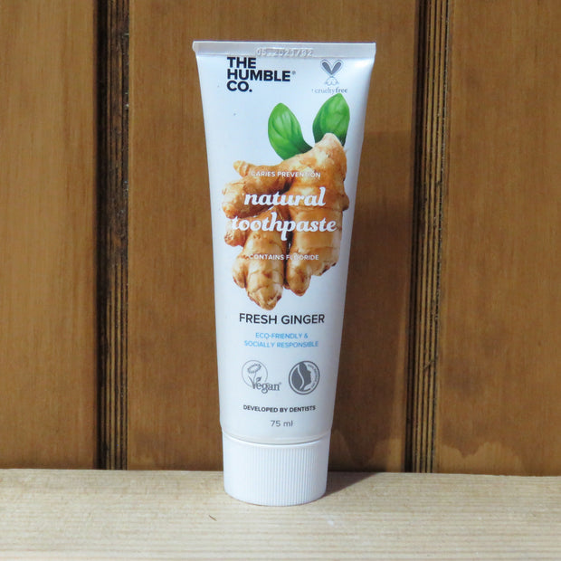 THE HUMBLE CO / Natural Toothpaste / Ginger