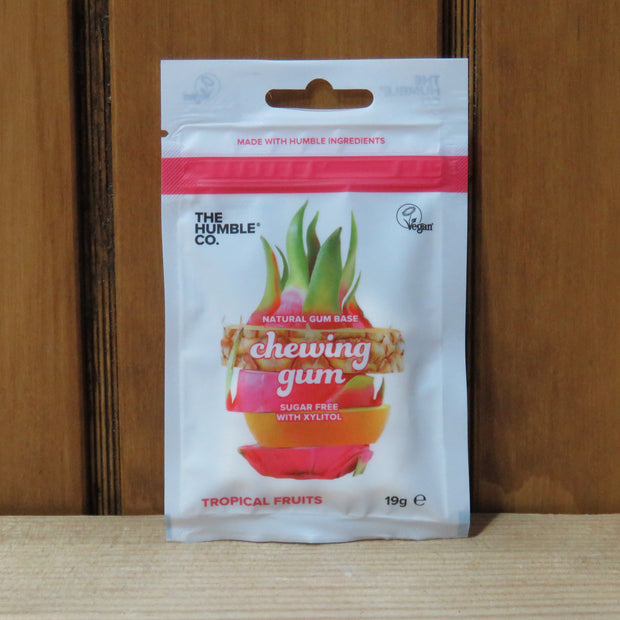 Natural Chewing Gum Fresh Tropical Fruits