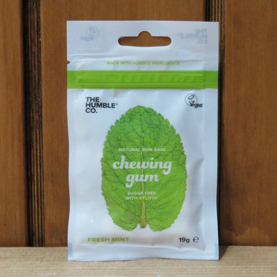 THE HUMBLE CO / Natural Chewing Gum / Fresh Mint