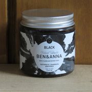 Toothpaste in Glass Jar Black