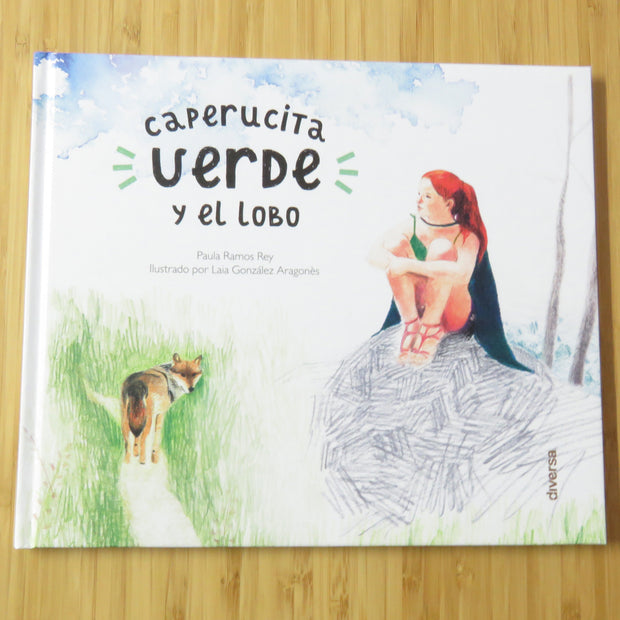 Caperucita Verde Y El Lobo (with cotton bag)