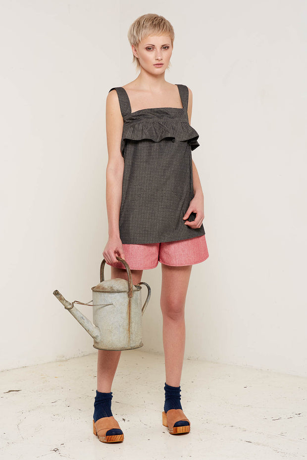 BO CARTER / Lilliana Top / Charcoal
