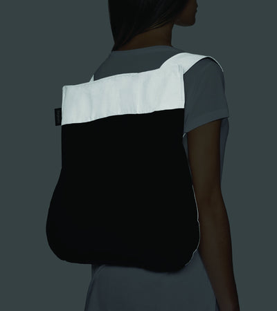 Bag/Backpack Reflective (black)