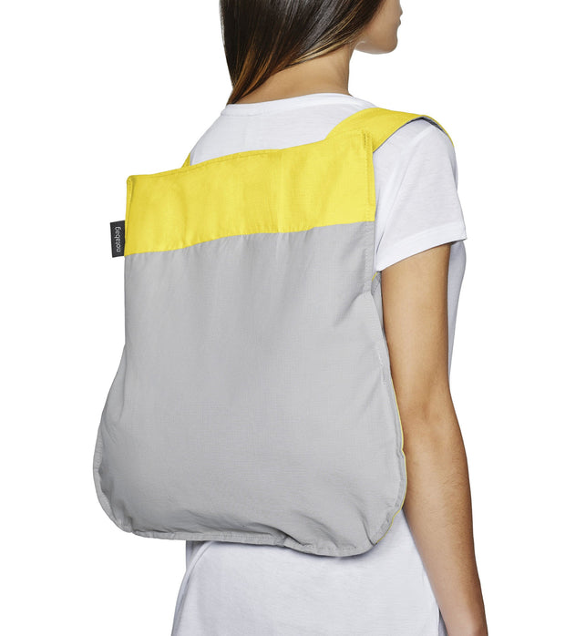 Bag/Backpack Original (yellow & grey)