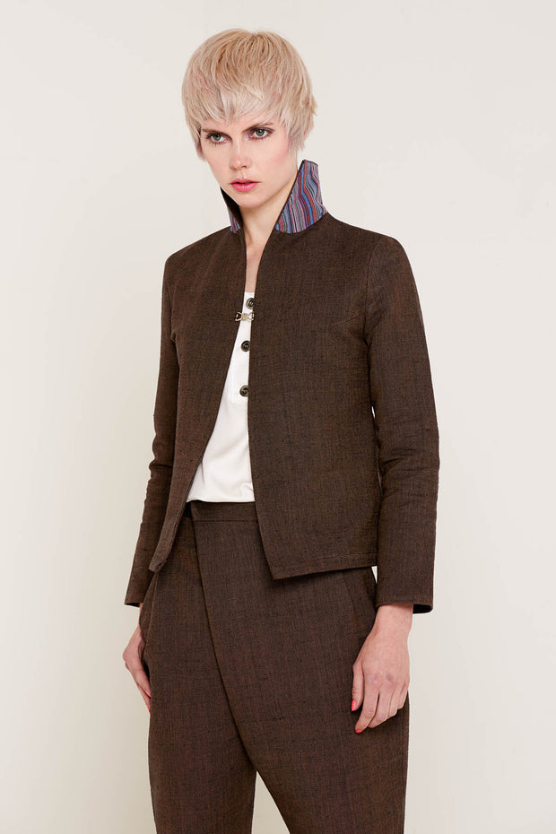 BO CARTER / Nancy Jacket / Brown