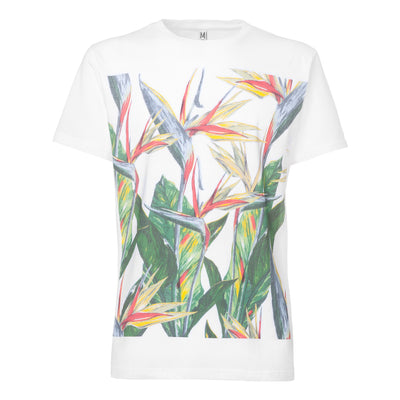 Paradiseflower T-Shirt / white