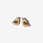 Stud Earrings Golden Dove