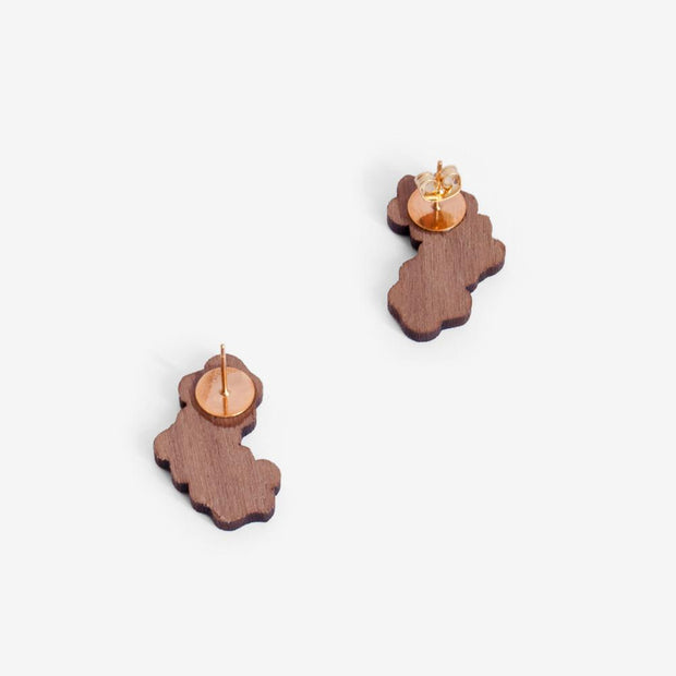 Stud Earrings Forget-Me-Not