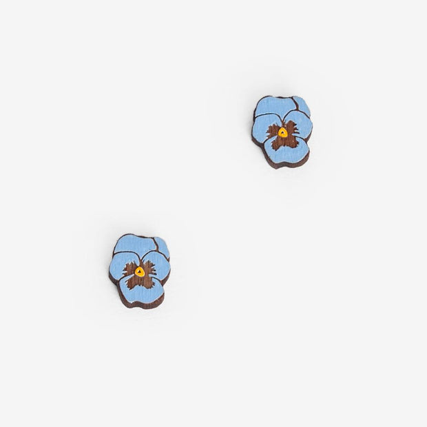 Stud Earrings Pansy