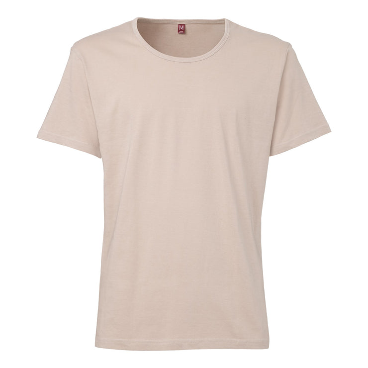TT19 Wide Neck T-Shirt Beige Fairtrade GOTS