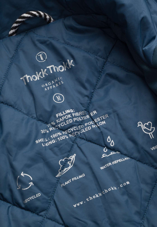 THOKKTHOKK / Light Kapok Jacket / Ink Blue
