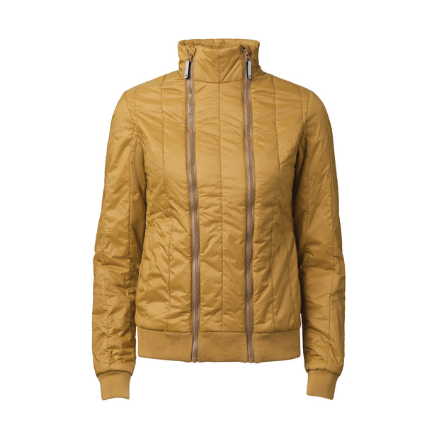 TT2012 Light Kapok Jacket Woman Olive 80gsm