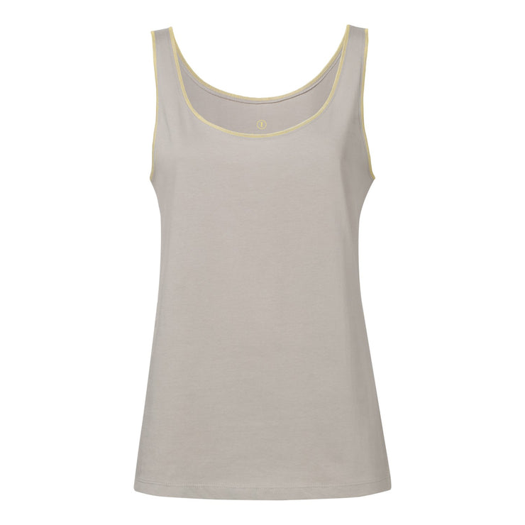 TT23 Light Tank Top Woman Dust Fairtrade GOTS