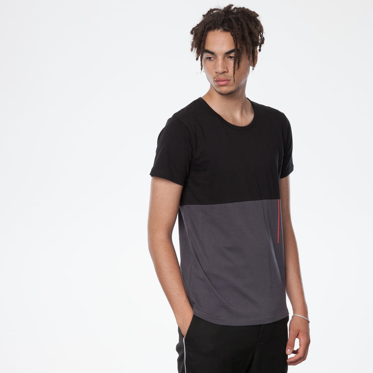 THOKKTHOKK / TT65 T-Shirt / Black | Anthracite