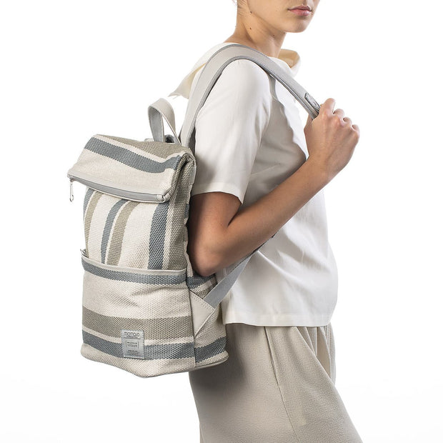 MIOMOJO / Essential Series Leonardo Backpack / Riga Crema