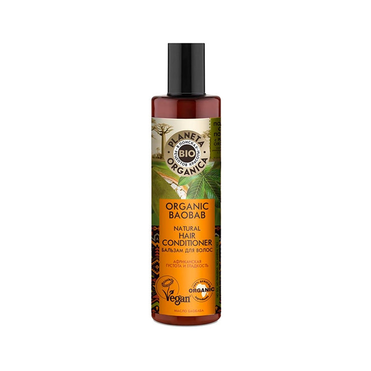 PLANETA ORGANICA / Organic Baobab Organic Hair Conditioner / Smoothness & Thickness