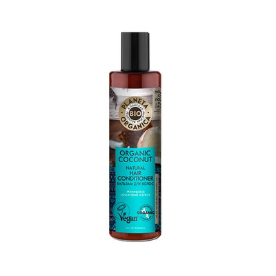 PLANETA ORGANICA / Organic Coconut Hair Conditioner / Moisturising & Natural Shine