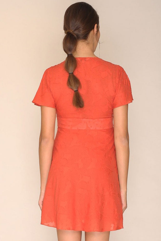PEPALOVES / Dress Agnes / Rust