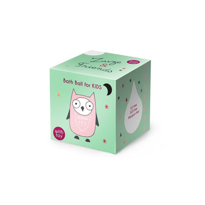 "ZUZE & FRIENDS / Bath Ball ""Rhubarb"" For Children With Toy"