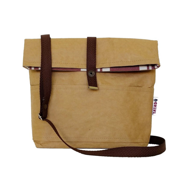 TATADU / Shoulder Bag Boston / Kraft