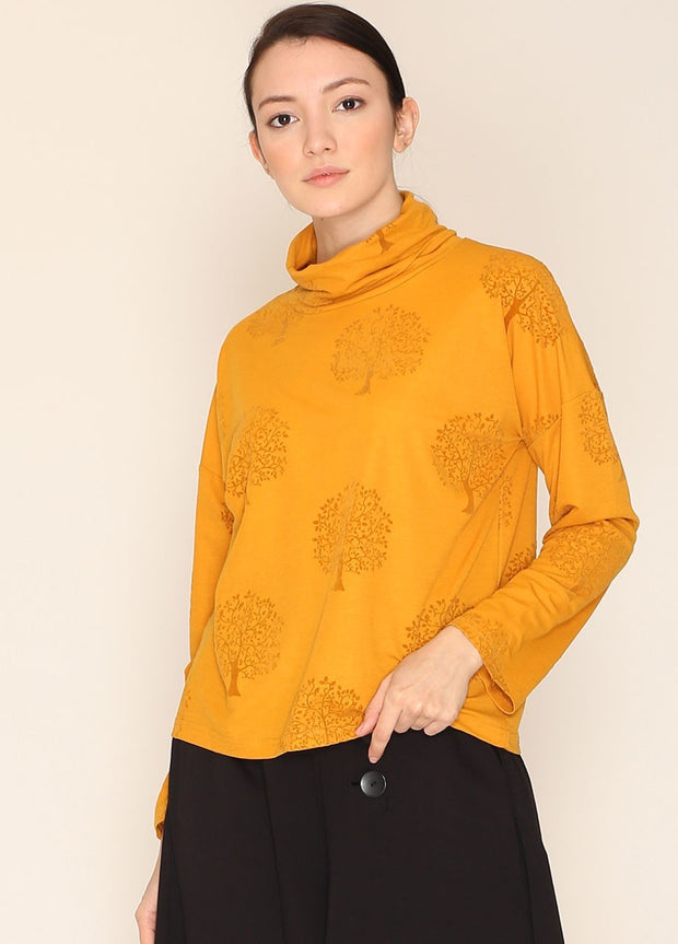 PEPALOVES / Top Nancy / Mustard