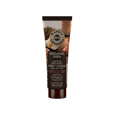PLANETA ORGANICA / Foot Cream Organic Shea Butter / Softness & Nutrition