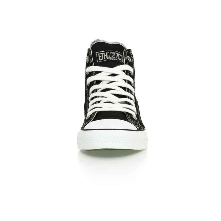 ETHLETIC / Fair Trainer White Cap Hi Cut / Jet Black | Just White