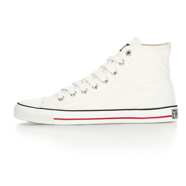 Fair Trainer White Cap Hi Cut Just White | Just White