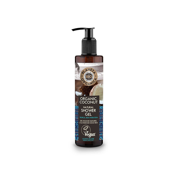 PLANETA ORGANICA / Shower Gel Organic Coco Tropical / Hydration