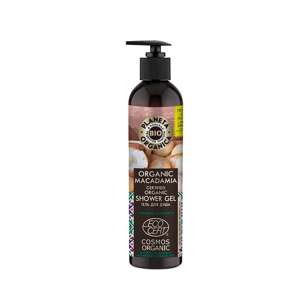 PLANETA ORGANICA / Shower Gel Organic Macadamia / Soft & Fresh