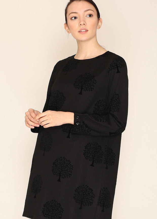PEPALOVES / Dress Hepburn / Black