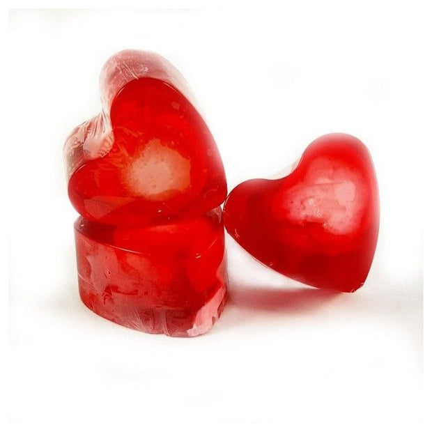 Heart-Shaped Soap Cinnamon