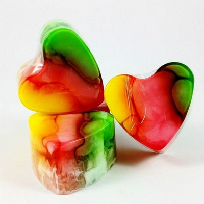 Heart-Shaped Soap Bubblegum