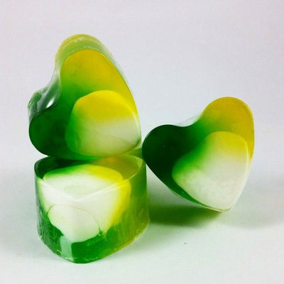 Heart-Shaped Soap Jasmine