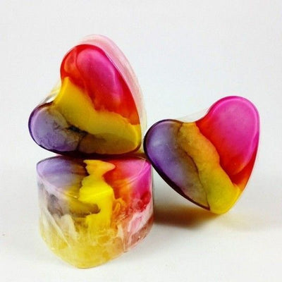Heart-Shaped Soap Freesia