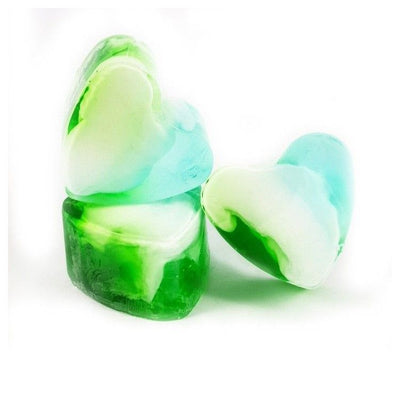 Heart-Shaped Soap Mint